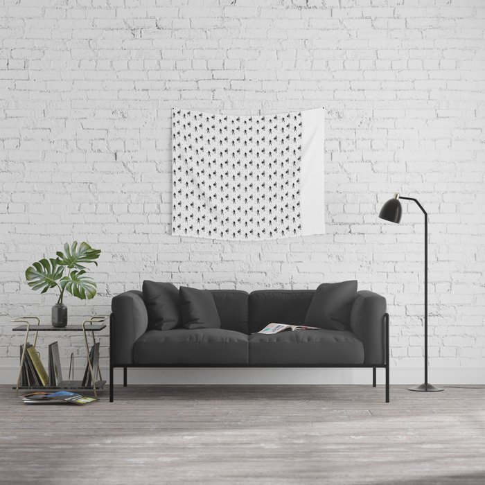 bobbypattern Wall Tapestry