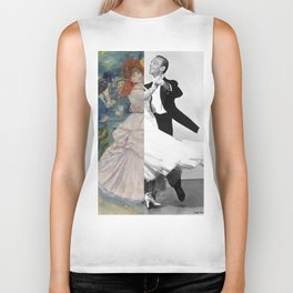 Renoir's Dance at Bougival & Fred Astaire (with Ginger Rogers) Biker Tank