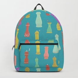 Retro Pepper Mills Backpack