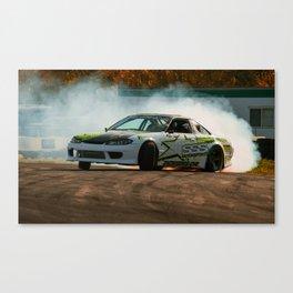 Powerslide Canvas Print
