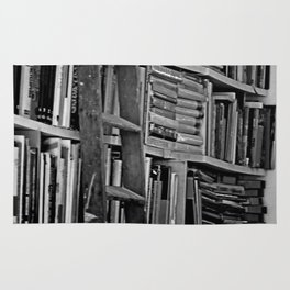 Book Shelves Rug