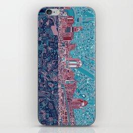 cincinnati city skyline iPhone Skin