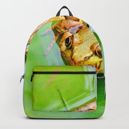 Frog on a Lily-pad Backpack