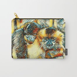 AnimalArt_Gibbon_20170901_by_JAMColorsSpecial Carry-All Pouch