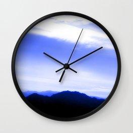 Sharm Mountains 3 Wall Clock