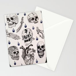 SKULL'D IT Stationery Cards
