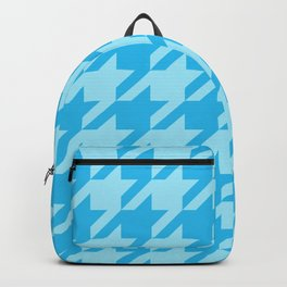 Blues Houndstooth Backpack