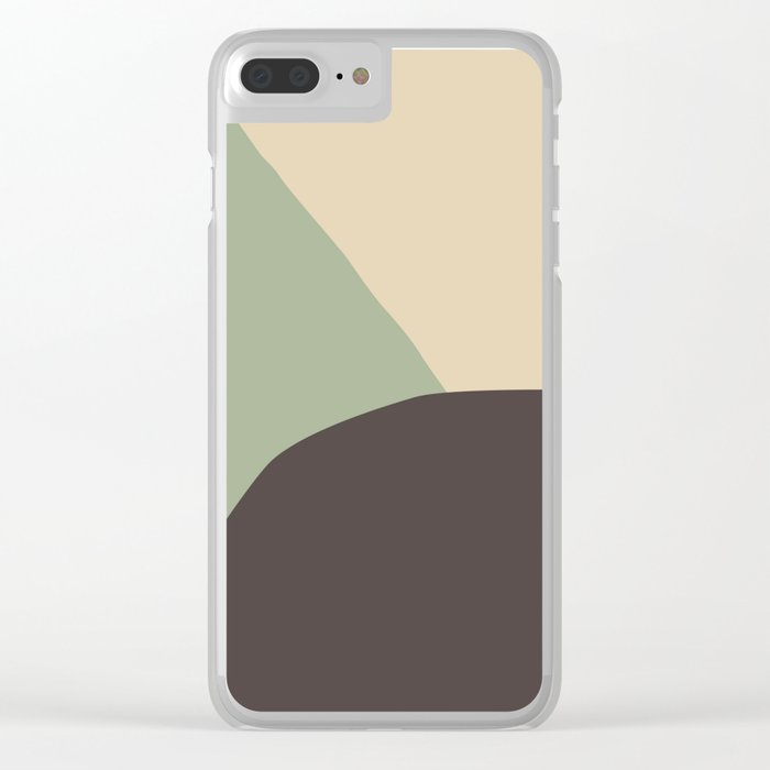 Deyoung Chocomint Clear iPhone Case