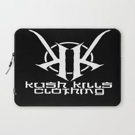 Kush Kills Circle Logo Emblem Laptop Sleeve