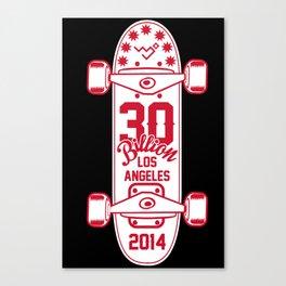 30Billion - Skateboard 06 Canvas Print