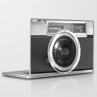 apple Laptop & iPad Skins featuring Camera by Nicklas Gustafsson