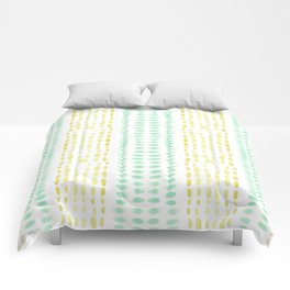 Striped dots and dashes Comforters