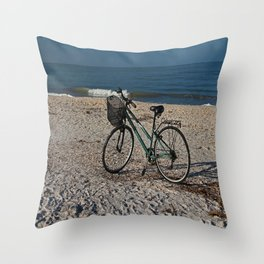 Great Day for a Ride Throw Pillow