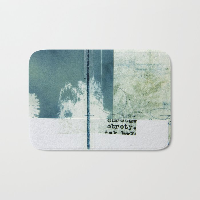 Polish Ferns Bath Mat