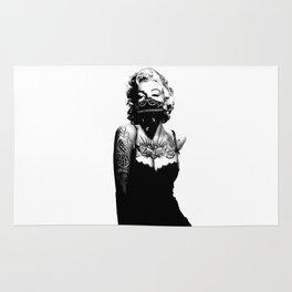 Marilyn Monroe INKED Rug