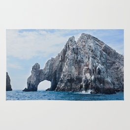 The Arch of Cabo San Lucas Photography Print Rug