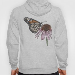 Butterfly and Coneflower Hoody