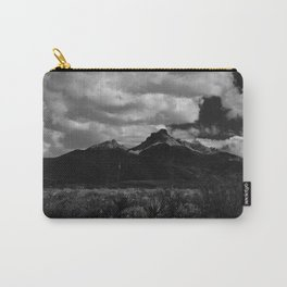 Dramatic Clouds over Mountain Range in Big Bend Carry-All Pouch