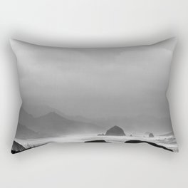 Storm in Canon Beach  Rectangular Pillow