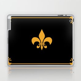 Gold And Black Laptop & iPad Skin