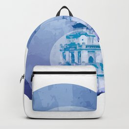 Vietnam Hoan Kiem Lake Hanoi Capital Backpack