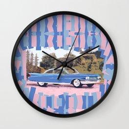 Cadillac Coupe De Ville, 1960 Wall Clock