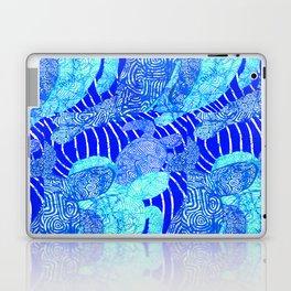 blue sea turtles Laptop & iPad Skin