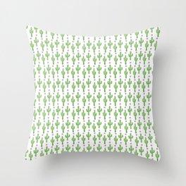 Cactus Craze Throw Pillow