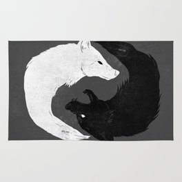 Feed the Wolves Rug