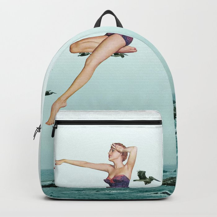 Fly above Backpack