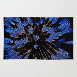 Dew On Dandelion, Wild Mandala Rug
