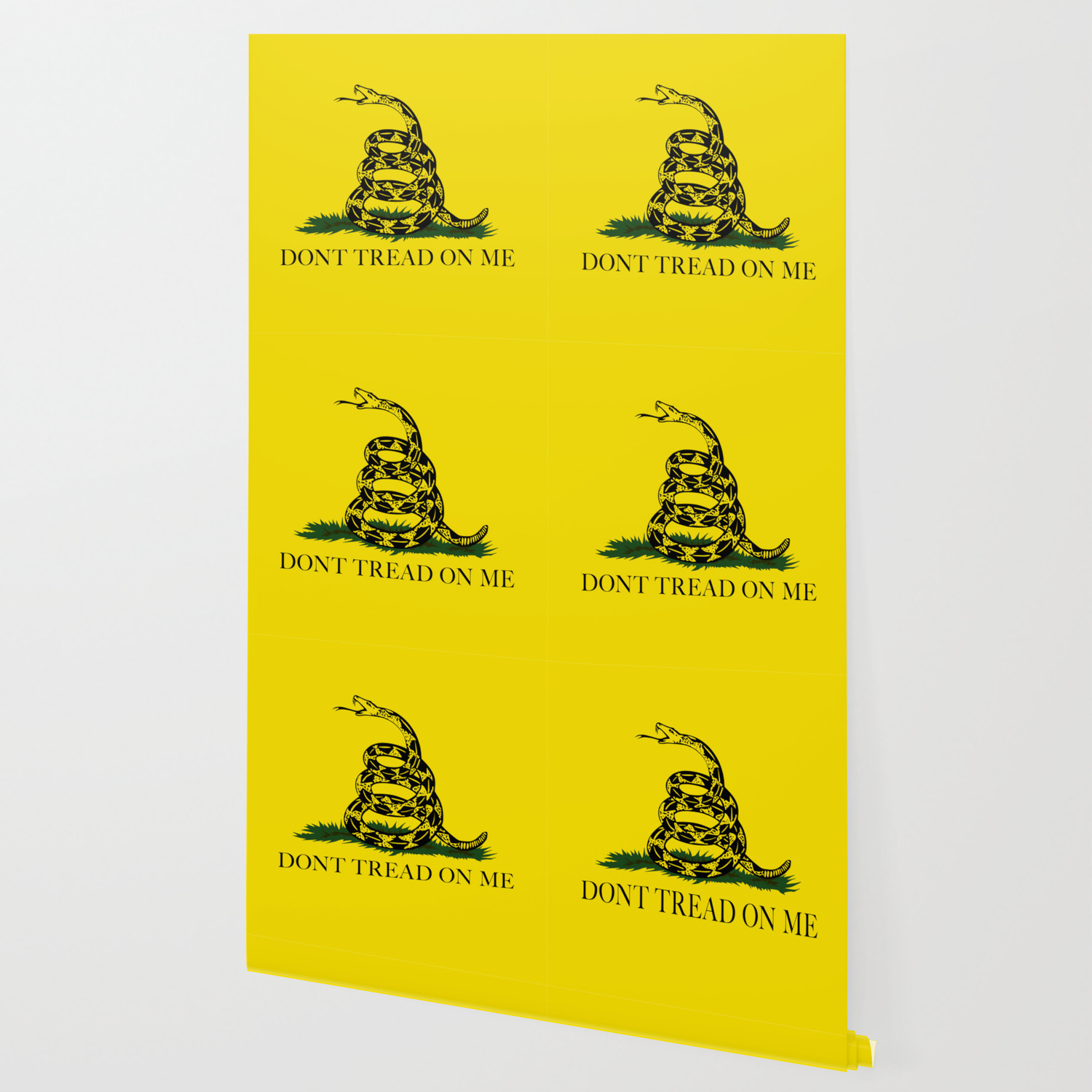 Gadsden Don T Tread On Me Flag Authentic Version Wallpaper By