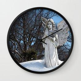 Consoling Angel • Sunshine Wall Clock