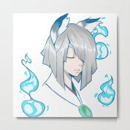 Yumiko Metal Print
