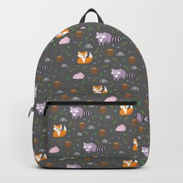 Woodland night Backpack