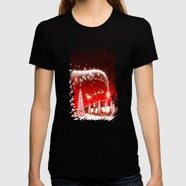 Santa Beautiful Christmas T-shirt