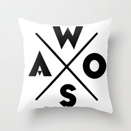 WOSA - World of Street Art Throw Pillow