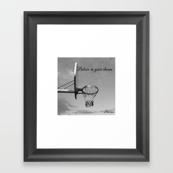 New York City Dreams Framed Art Print by Burgababy87 FRM8859527