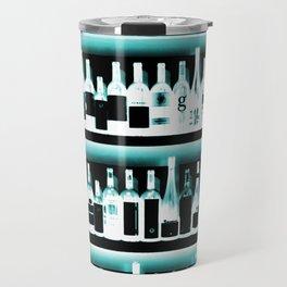 Wine Bottles - version 2 #decor #buyart #society6 Travel Mug
