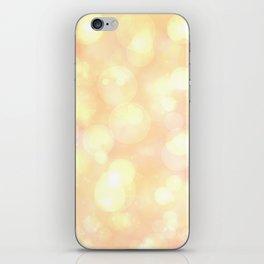 Champagne light iPhone Skin