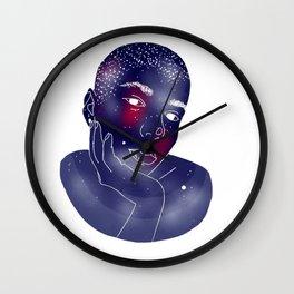 Starry Skin Wall Clock