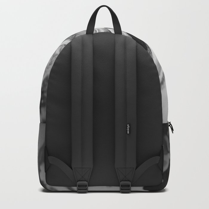 Deep Sea Black Focus Marble Backpack