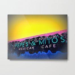 Pepe Mito's Metal Print