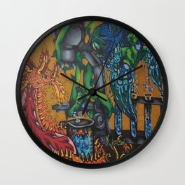 Sci-Games Wall Clock