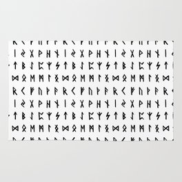 Nordic Runes Rug