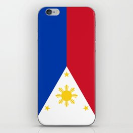 Philippines national flag iPhone Skin