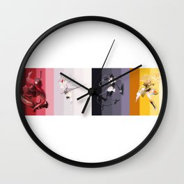 RWBY Wall Clock
