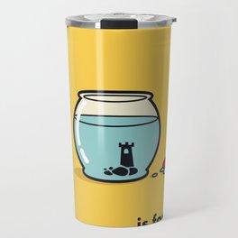 F is for freedom - the irony Travel Mug
