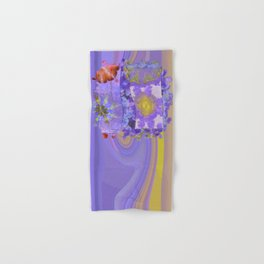 Cranioclasty Nightmare Flowers  ID:16165-060316-03481 Hand & Bath Towel