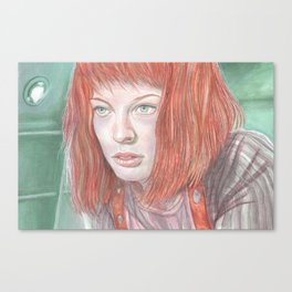 Leeloo - the Fifth Element Canvas Print